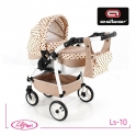 Детская кукольная коляска Adbor Lily Sport Ls-10