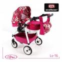 Детская кукольная коляска Adbor Lily Sport Ls-16