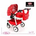 Детская кукольная коляска Adbor Lily Sport Ls-17