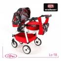 Детская кукольная коляска Adbor Lily Sport Ls-18