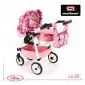 Детская кукольная коляска Adbor Lily Sport Ls-22