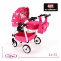 Детская кукольная коляска Adbor Lily Sport Ls-23