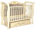 Детская кроватка Антел Luiza 333/ Кедр Olivia 2