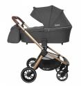 Детская коляска 3 в 1 CARRELLO Epica CRL-8511 (Iron Grey)