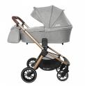 Детская коляска 3 в 1 CARRELLO Epica CRL-8511 (Silver Grey)