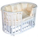 Детская кроватка Антел Северянка 3 маятник 7 в 1