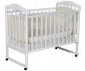 Детская кроватка Антел Алита 2 (сл. кость, белый, венге, серый)