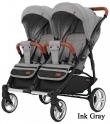 Детская прогулочная коляска для двойни Carrello Connect CRL-5502