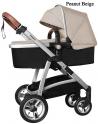 Детская коляска Baby Tilly T-165 Futuro Peanut Beige