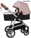 Детская коляска Baby Tilly T-165 Futuro Coral Pink