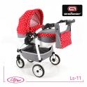 Детская кукольная коляска Adbor Lily Sport Ls-11