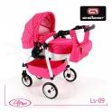 Детская кукольная коляска Adbor Lily Sport Ls-09