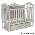 Детская кроватка Антел Anita 999 / Кедр Emily 4 с мягкой спинкой