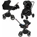 Детская коляска 3 в 1 Carrello Epica CRL-8511/1 Space Black