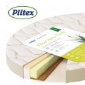 Матрас в детскую кроватку Plitex Aloe Vera Oval 125х75х10 см