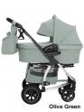 Детская коляска Carrello CRL-6506 Vista Air 2 в 1 (Olive Green)