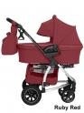 Детская коляска Carrello CRL-6506 Vista Air 2 в 1 (Ruby Red)
