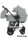 Детская коляска Carrello CRL-6506 Vista Air 2 в 1 (Shark Gray)