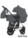 Детская коляска Carrello CRL-6506 Vista Air 2 в 1 (Steel Gray)