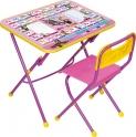 Комплект детской складной мебели Маша и медведь КПУ1